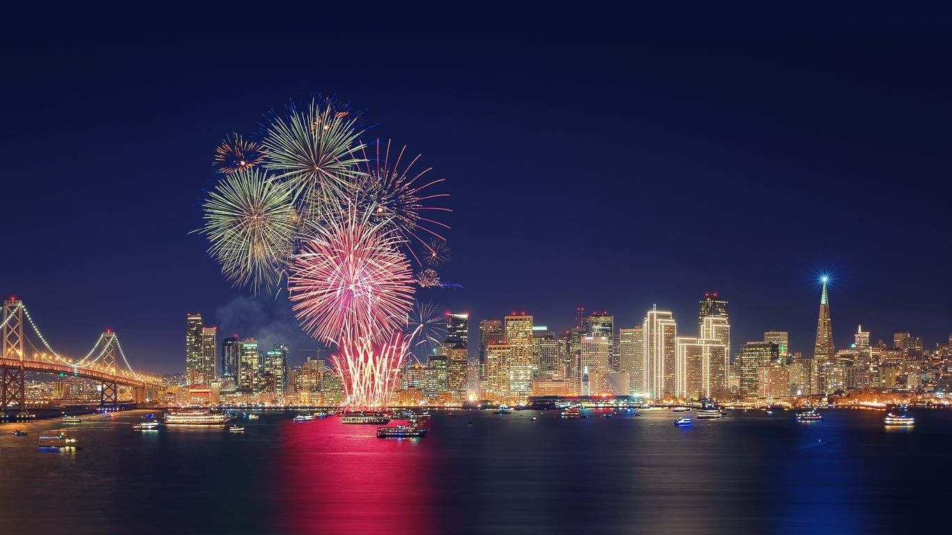 Hey California it wasn't your imagination: This year there really WERE more fireworks.